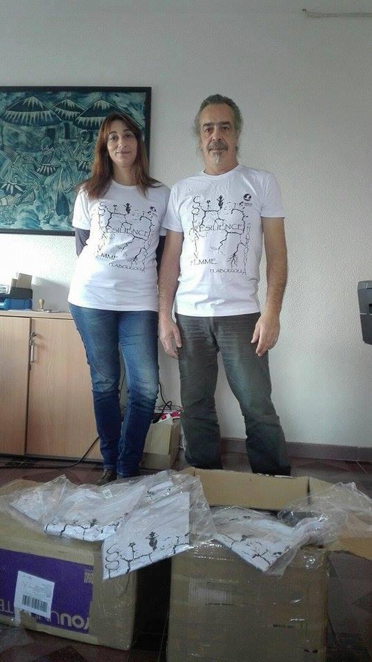 Nuevas Camisetas Proyecto Resiliencia- Cooperativa de Horonya