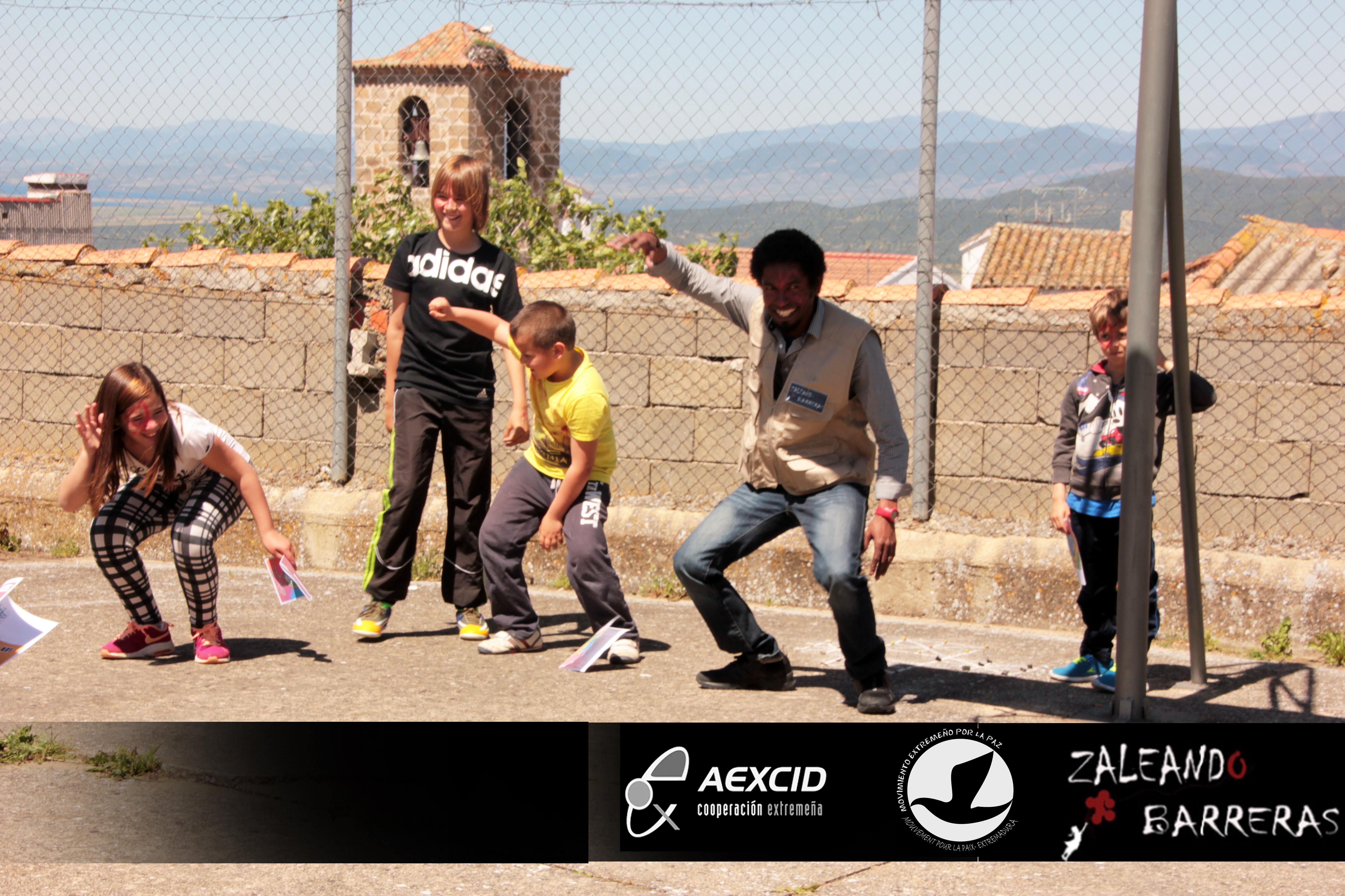 Actividades ZALEANDO BARRERAS en los Colegios del Valle del Ambroz (Curso 2015-2016)