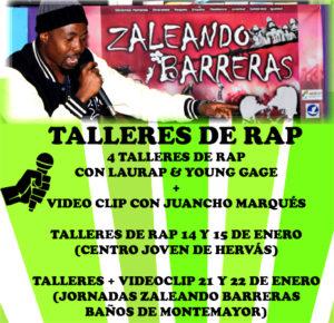 TALLER DE RAP