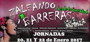 JORNADAS ZALEANDO BARRERAS DESDE LA JUVENTUD