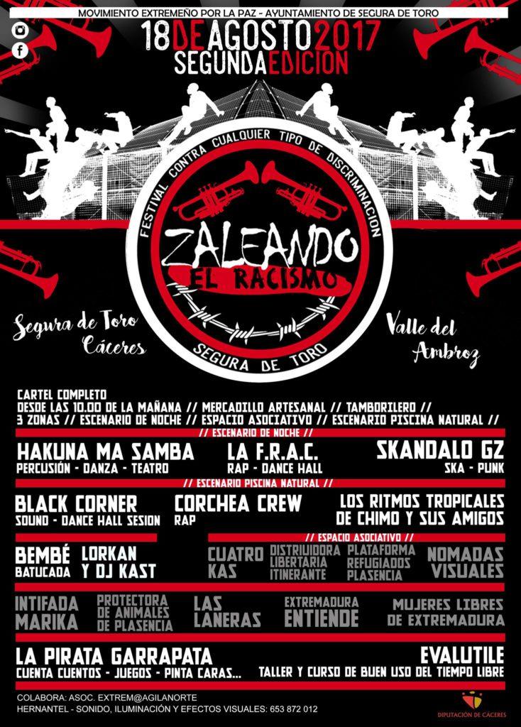 zaleando_el_racismo_cartel