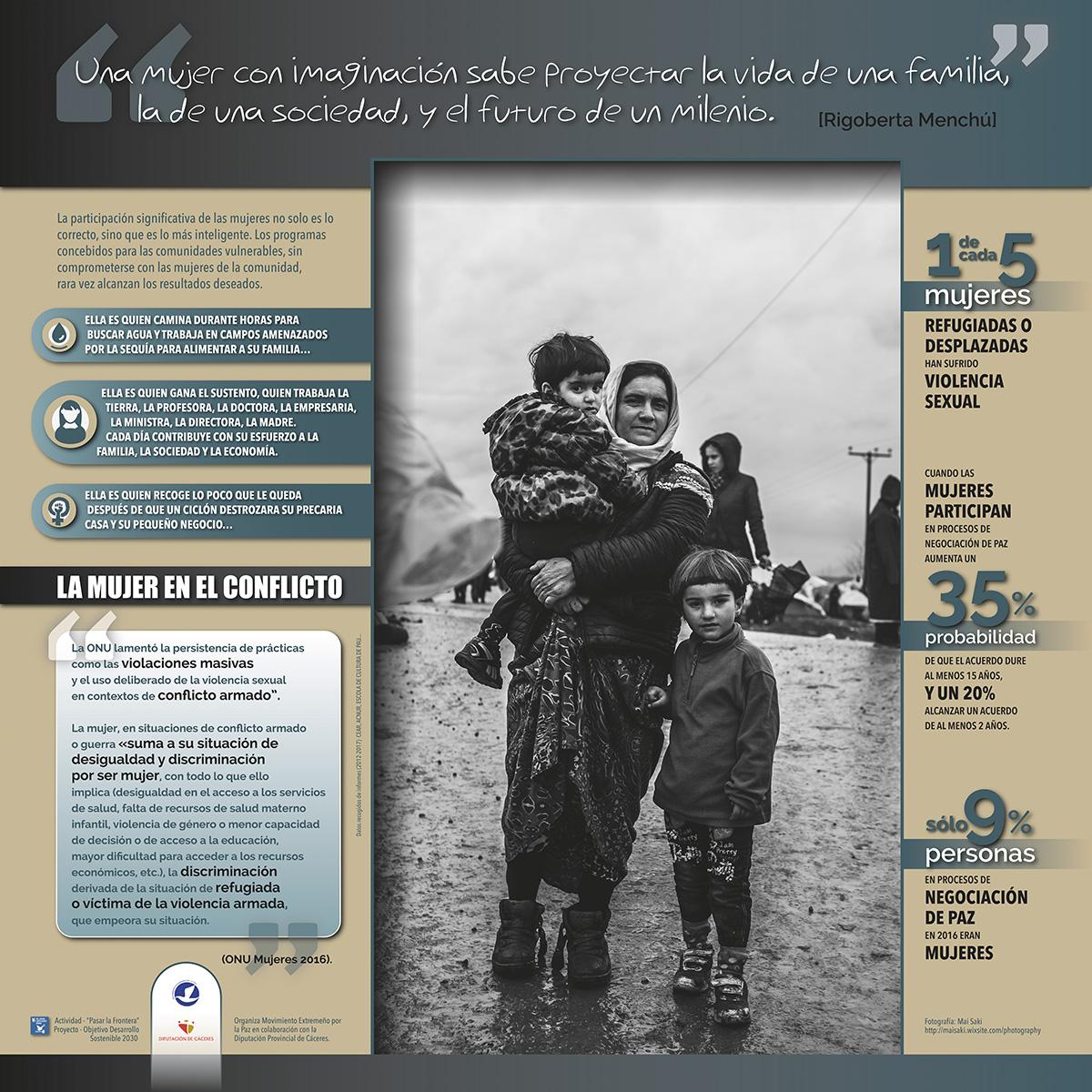 panel4-mujer-en-el-conflicto-#ningunserhumanoesilegal
