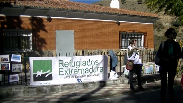 refugiados-extremadura-#ningunserhumanoesilegal