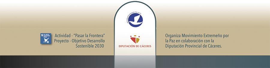 Organiza Movimiento Extremeño por la Paz en colaboración con la Diputación Provincial de Cáceres