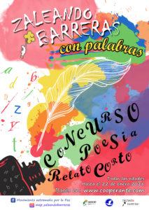 """I Concurso """"Zaleando Barreras con Palabras"""" Poesía y Relato Corto"""